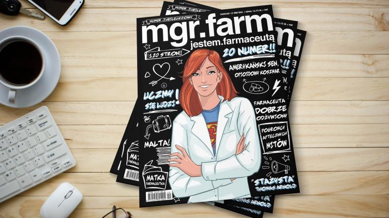 Sprawdź co w najnowszym numerze MGR.FARM | https://farmacja.pl/magazyn/