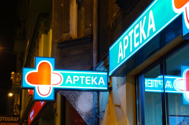 Na terenie Bielan działa szpital, w którym funkcjonuje nocna pomoc lekarska, więc apteka całodobowa na terenie dzielnicy była tym bardziej niezbędna (fot. Shutterstock)