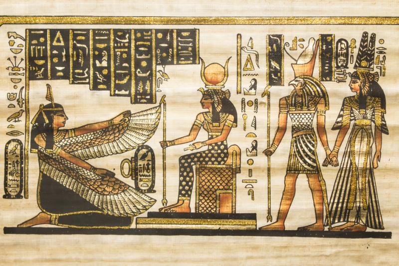 Oko Horusa stało się symbolem zdrowia, dobra i przywróconego zdrowia, a symbol Rx jest właściwie znakiem graficznym, na który składa się zarys linii symbolu oka boga nieba (fot. Shutterstock)