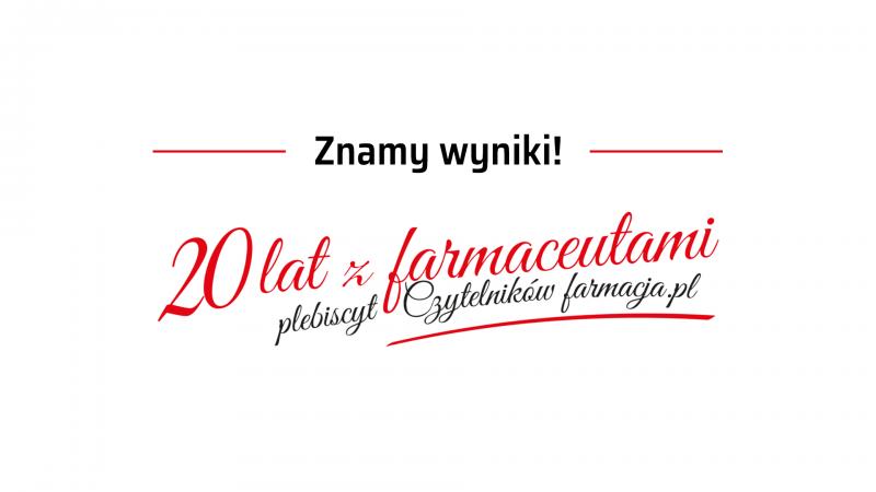 Wyniki plebiscytu Czytelników farmacja.pl