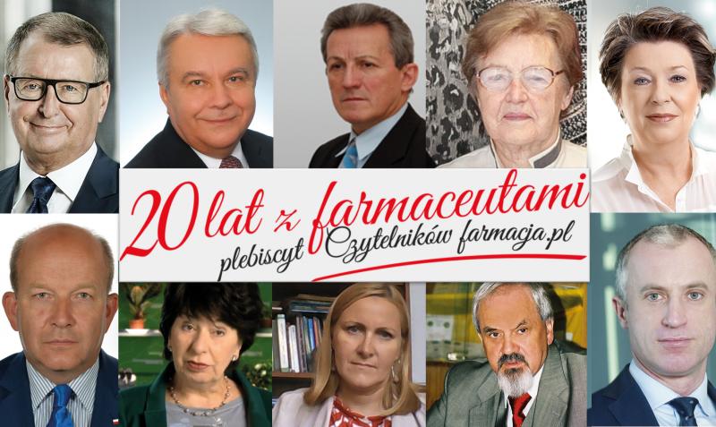 Głosowanie potrwa do 17 września.  Głosować można codziennie, raz dziennie na stronie www.20latzfarmaceutami.pl