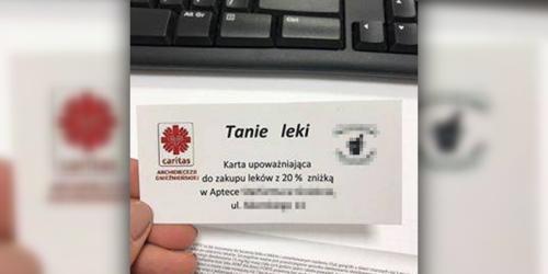 Caritas zapłaci 10 000 zł kary za reklamę apteki z kościelnych ambon…
