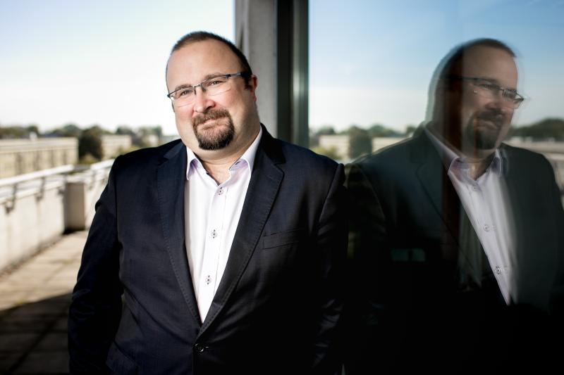 Michał Byliniak zapowiedział, że na początku roku 2019 powstanie PGEU Pharmacy 2030 Vision, który będzie nakreślał kierunki rozwoju zawodu farmaceuty do 2030 r., jak i w kolejnych latach (fot. MGR.FARM)