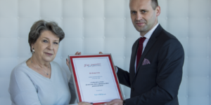 Dr Irena Eris odebrała nagrodę od farmaceutów…