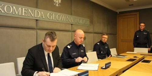Porozumienie pomiędzy GIF, a Komendantem Głównym Policji