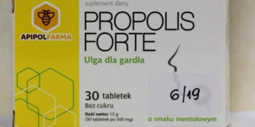 Sanepid ostrzega przed kolejnym suplementem z propolisem