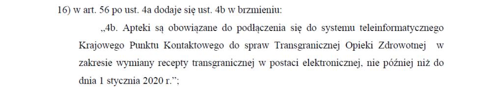 Projekt zmian w ustawie z dnia 28 kwietnia 2011 r. o systemie informacji w ochronie zdrowia.