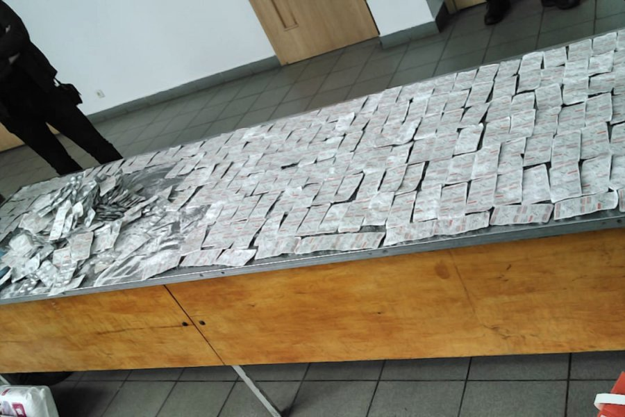 W trakcie działań, na granicy ukraińsko-polskiej, przejęto m.in. ponad 7,2 tys. szt. tabletek (7,2 kg) buprenorfiny (fot. Shutterstock)