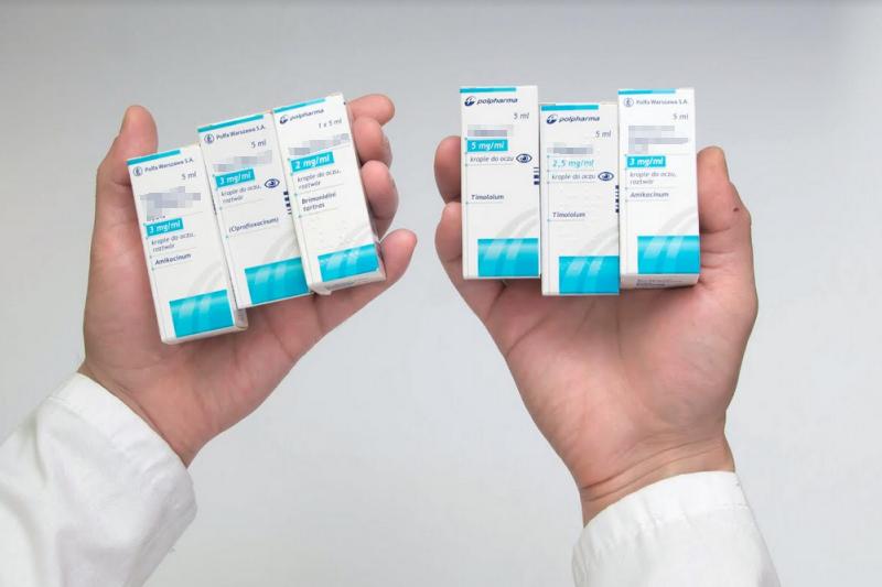Przyczyną pomyłki miały być identycznie wyglądające opakowania obu leków (fot. MGR.FARM)