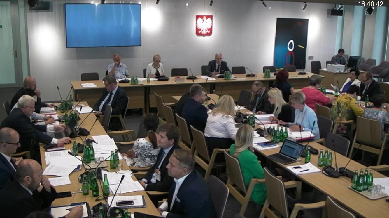 Wiele wskazuje na to, że kary finansowe dla aptek pozostaną w projekcie nowelizacji Prawa farmaceutycznego (fot. sejm.gov.pl)
