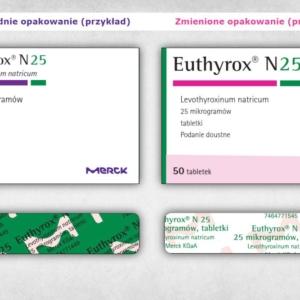 WAŻNE: Euthyrox od września zmienia skład i opakowanie