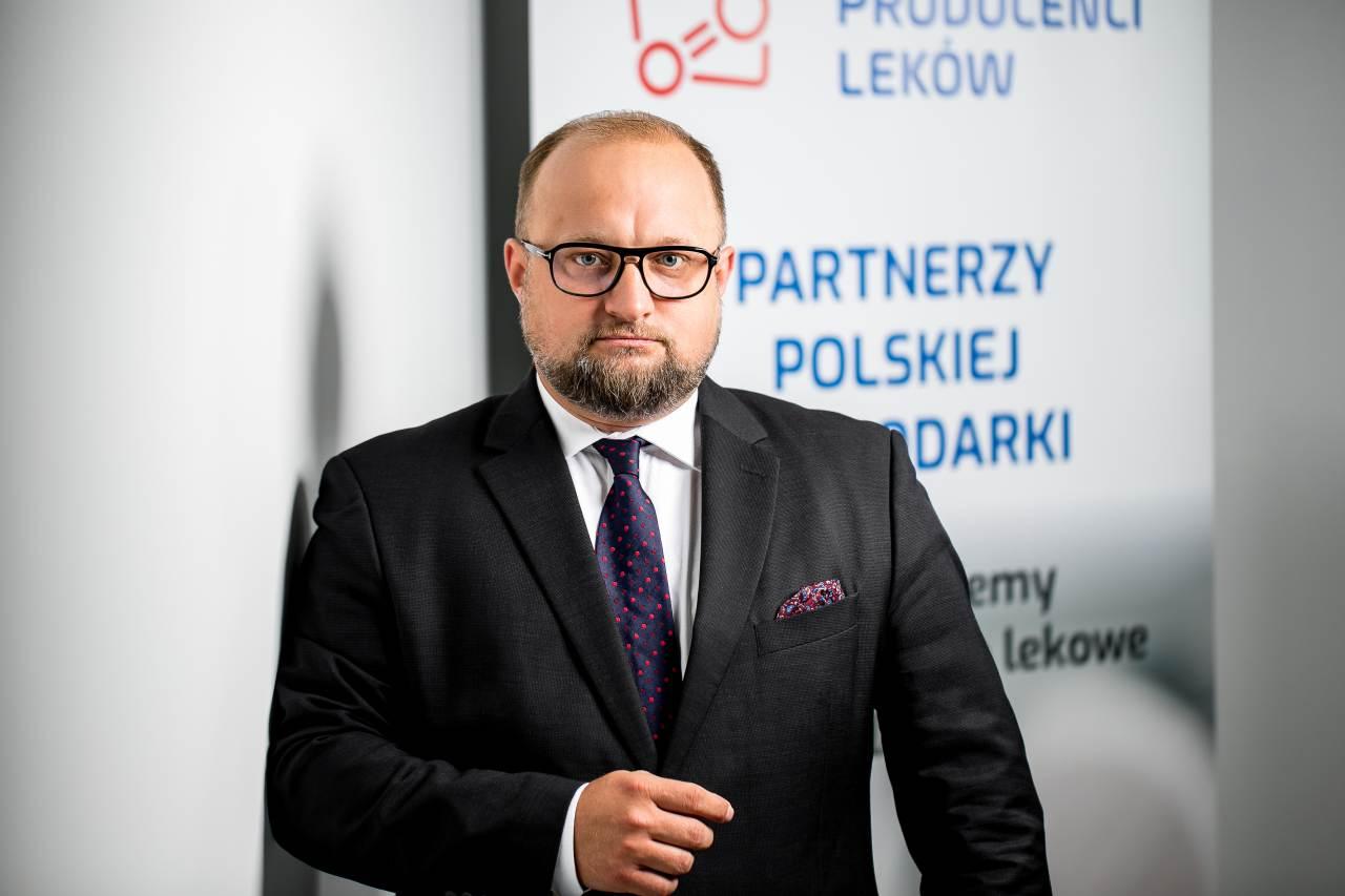 Krzysztof Kopeć od 2018 roku pełni funkcję Prezesa Polskiego Związku Pracodawców Przemysłu Farmaceutycznego (fot. MGR.FARM)