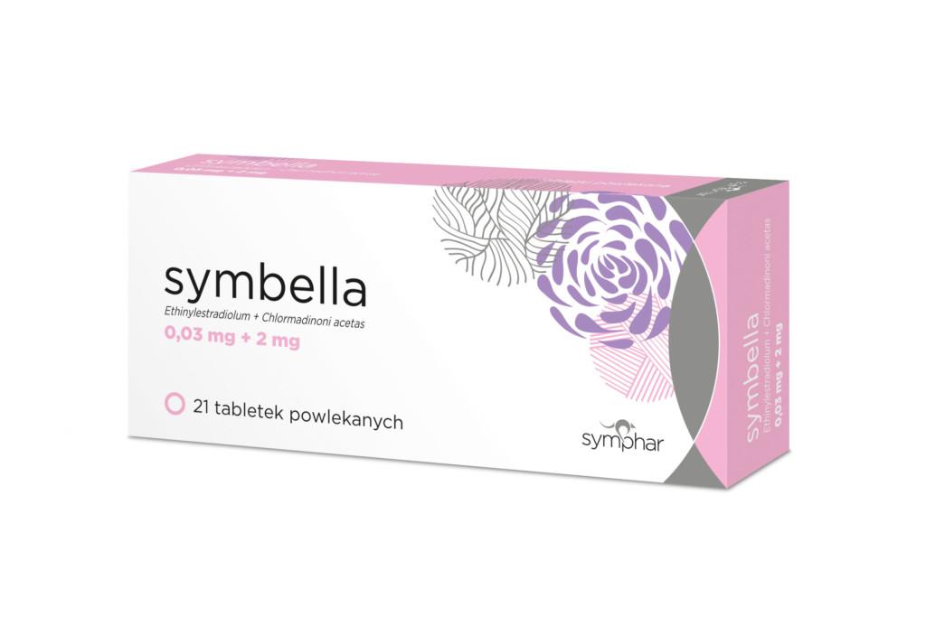 Symbella jest hormonalnym środkiem antykoncepcyjnym do stosowania doustnego (fot. symphar.com)