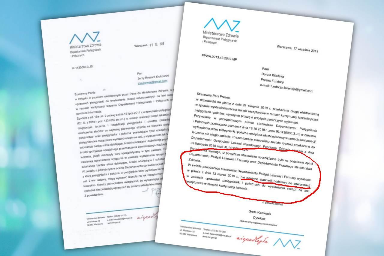 NFZ posługuje się nieobowiązującym stanowiskiem, w sprawie recepty pielęgniarek na lek recepturowy, choć zna nowe? (fot. Shuterstock/Twitter)