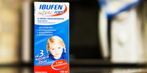 Syrop przeciwgorączkowy dla dzieci wycofany z obrotu