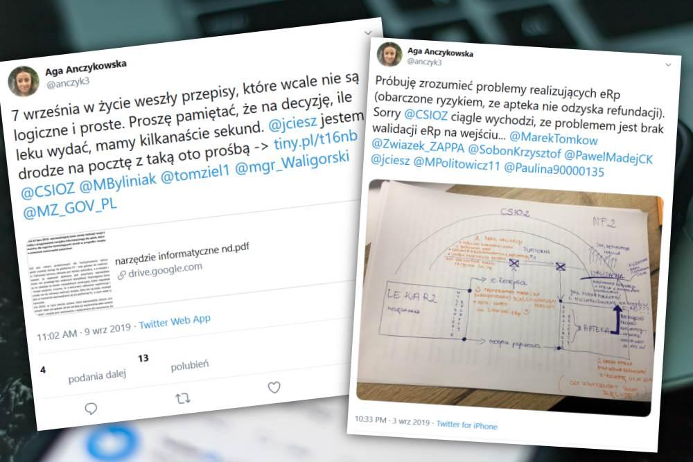 Farmaceutka swój list opublikowała na Twitterze. Tam od kilku dni trwa gorąca dyskusja na temat zmian w sposobie realizacji elektronicznych recept (fot. Shutterstock/TT)