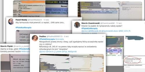 #PiatekZeRecepta – akcja farmaceutów na Twitterze. O co w niej chodzi?