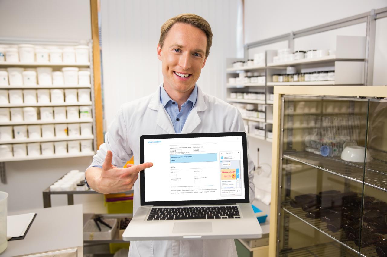 Kalkulator e-recepty wylicza ilość leku jaką można wydać pacjentowi, zgodnie z wytycznymi ministerstwa zdrowia (fot. Shutterstock)