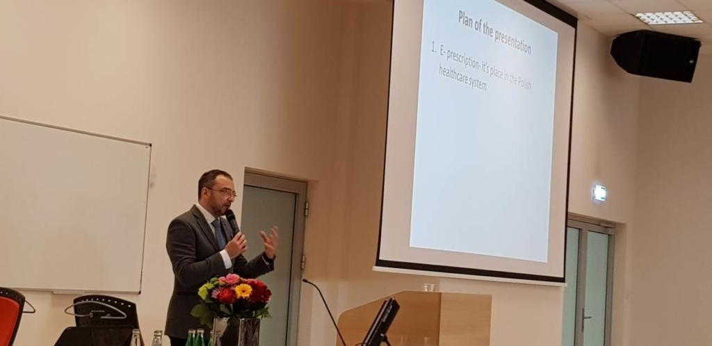 Prof. Marcin Czech o znaczeniu e-recepty dla HTA (Fot. MGR.FARM)