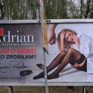 Farmaceutka w kontrowersyjnej kampanii… reklamowej rajstop