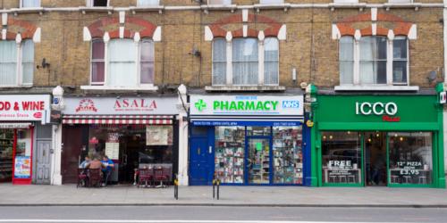 W zeszłym roku upadło ponad 100 angielskich aptek