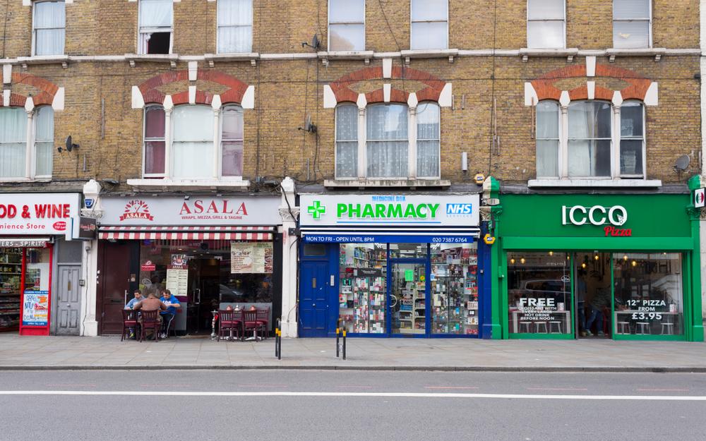 Londyn to jedyne miejsce, gdzie otworzono i zamknięto tę samą liczbę aptek w trakcie roku (fot. Shutterstock)