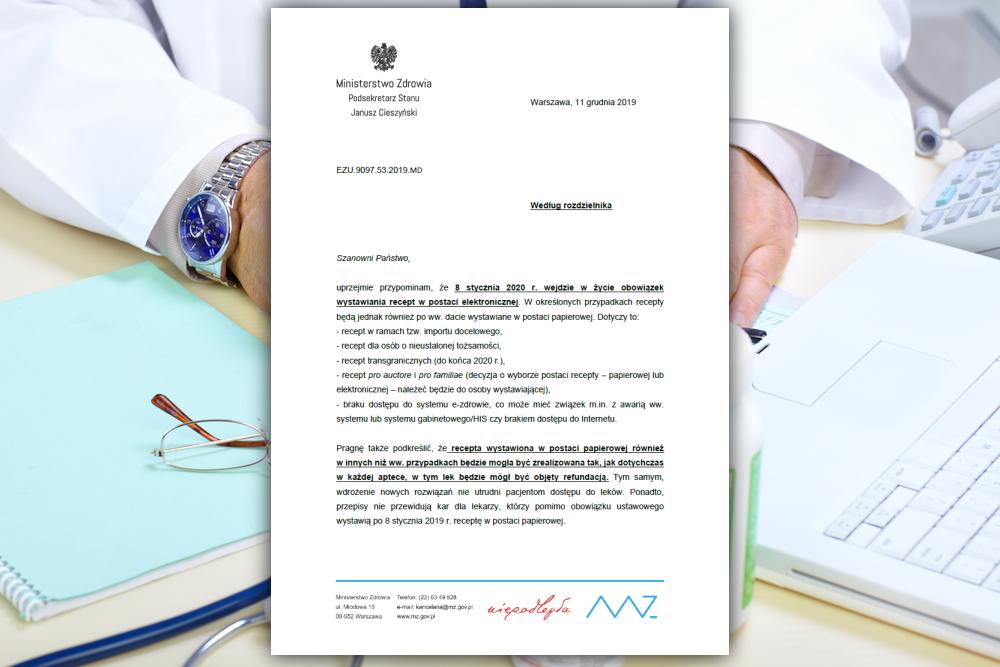 Kilka dni temu Naczelna Izba Lekarska opublikowała pismo, jakie resort zdrowia skierował do wszystkich izb lekarskich (fot. Shutterstock)