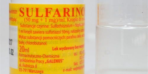 Uwaga! Cztery serie leku Sulfarinol zostały wycofane z obrotu z powodu zanieczyszczenia