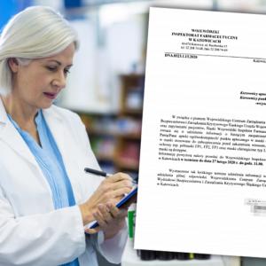 Inspekcja zbiera informacje o dostępności masek ochronnych w aptekach