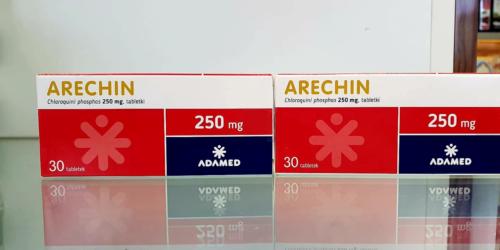 Arechin pierwszym lekiem ze wskazaniem do leczenia zakażeń koronawirusem