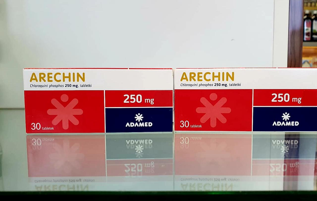 Czy zagraniczne koncerny farmaceutyczne dezawuują chlorochinę by sprzedać swoje leki? (fot. MGR.FARM)