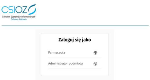 Logowanie do gabinet.gov.pl