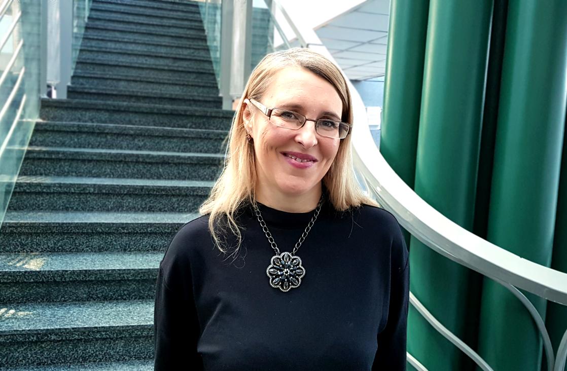 Dr n. farm. Agnieszka Neumann-Podczaska. Dzięki niej opieka farmaceutyczna rozwija się w Poznaniu (fot. MGR.FARM)