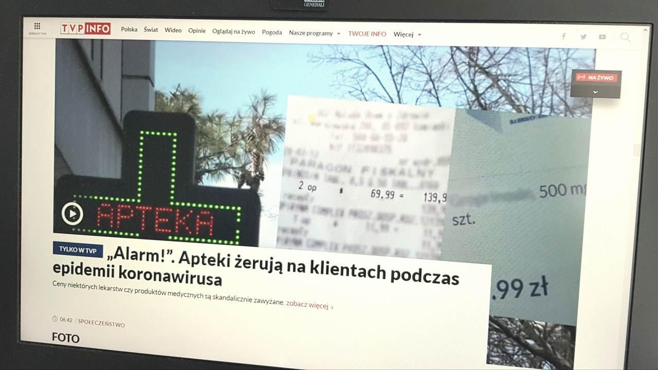 Adam Bodnar chce by KRRiT przeprowadziła postępowanie wyjaśniające w sprawie materiału TVP Info szkalującego aptekarzy (fot. MGR.FARM)