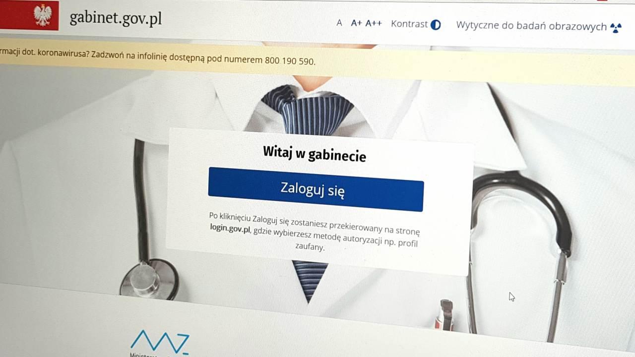 Resort zdrowia pracuje nad zmianami legislacyjnymi, które będą stanowiły podstawę do ich zaimplementowania w aplikacji gabinet.gov.pl (fot. MGR.FARM)