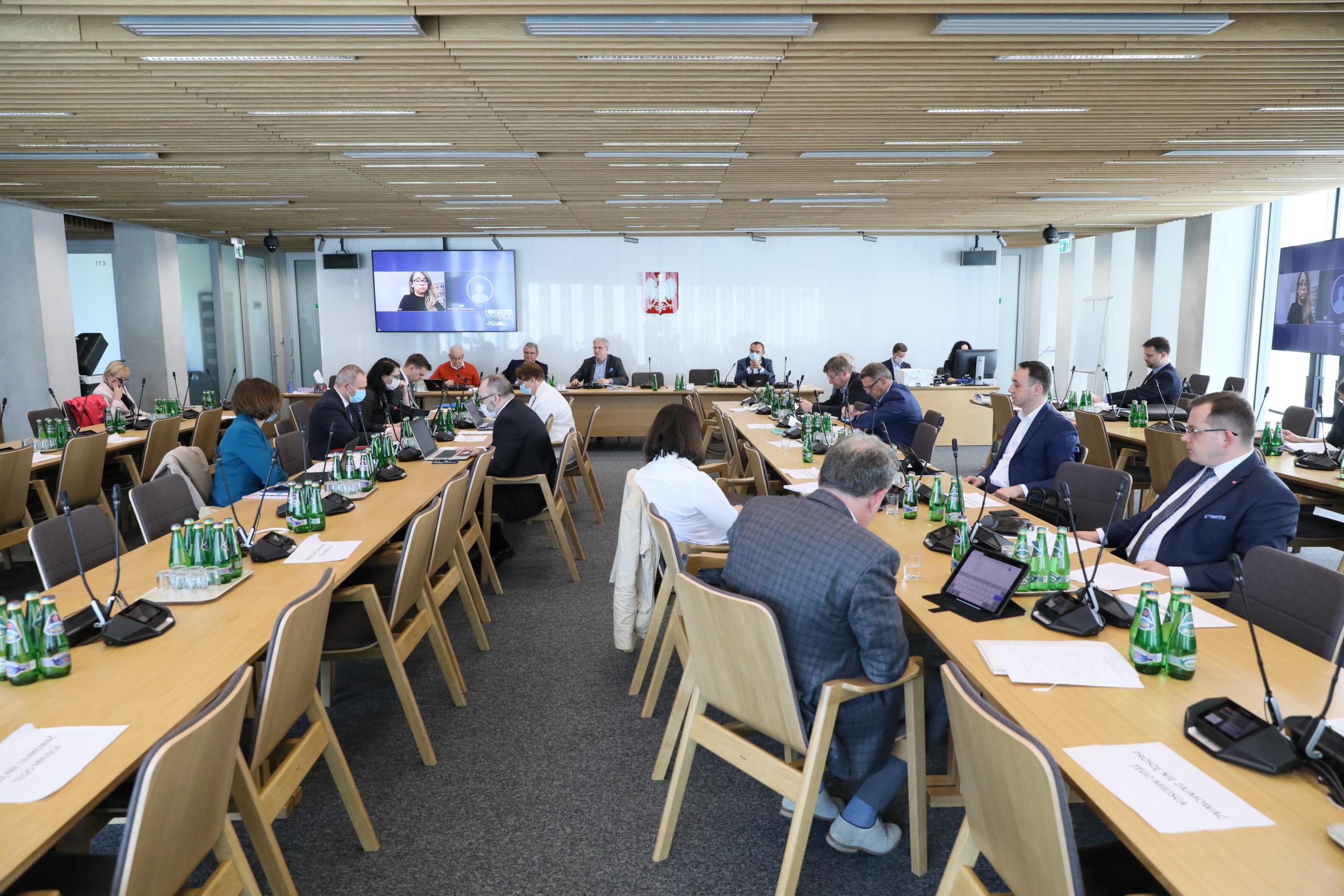 Posiedzenia podkomisji będą transmitowane. Ale czy weźmie w nich udział strona społeczna? (Fot. sejm.gov.pl)
