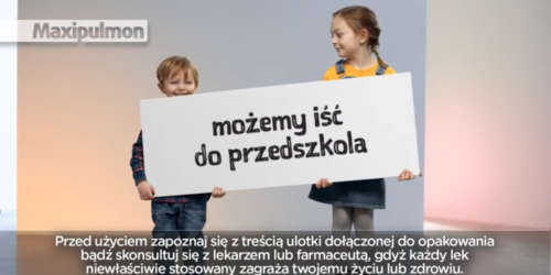 Dziecko wypije syrop i może iść do przedszkola? Reklama budzi wątpliwości…
