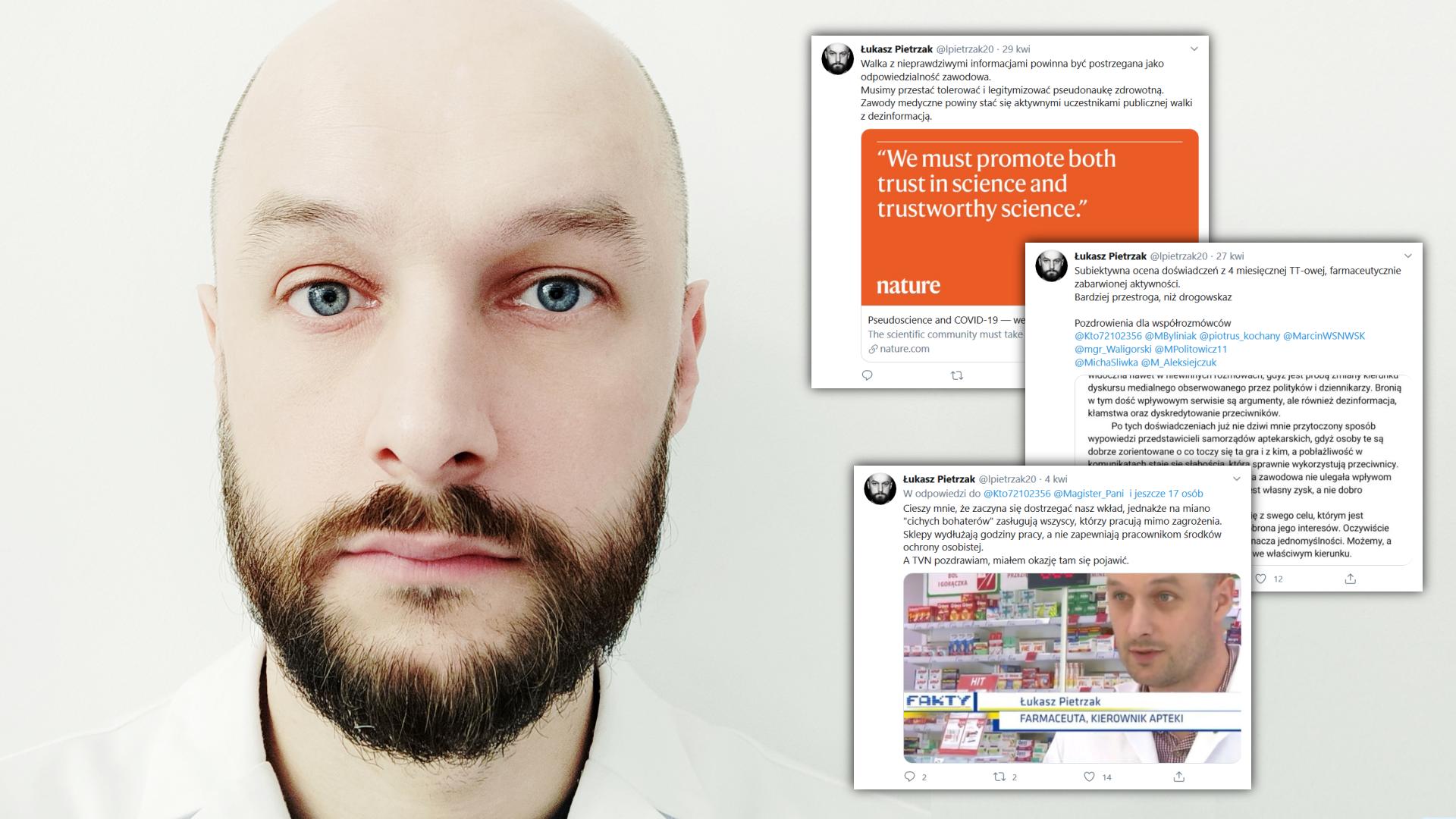 Twitter stał się areną walki wielu przeciwstawnych interesów na rynku farmaceutycznym. Wpisy na nim są chętnie cytowane przez media (fot. Łukasz Pietrzak)
