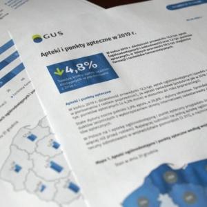 Raport GUS: coraz mniej aptek w Polsce. Ubywa też farmaceutów…