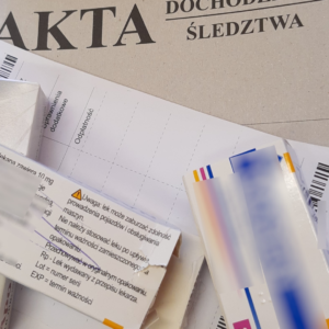 30-letnia lekarka zatrzymana w aptece za podrabianie recept