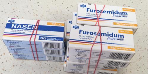 Pomyłka w pakowaniu leków Furosemid i Nasen dotyczyła 11 opakowań…
