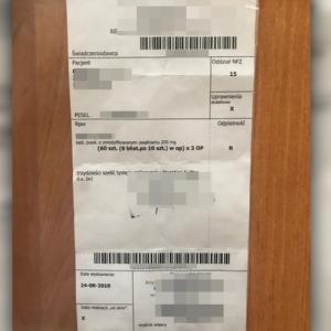 Poznaniak usłyszał 283 zarzuty za fałszowanie recept na morfinę