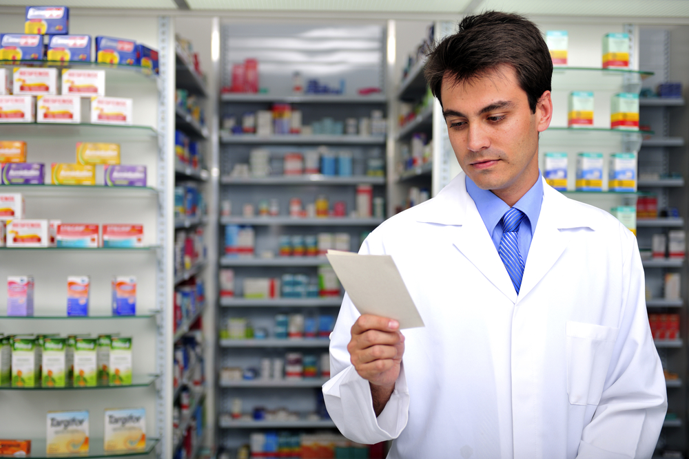 W placówkach aptecznych w Chojnicach coraz częściej pojawiają się pacjenci, okazujący niewypełnione przez osoby uprawnione do wystawiania recept druki na leki przeczyszczające przed kolonoskopią(fot. Shutterstock).