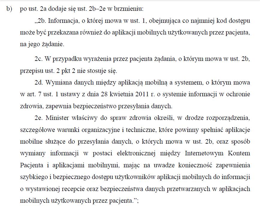 Propozycja zmiany przepisów art. 96b ustawy Prawo farmaceutyczne