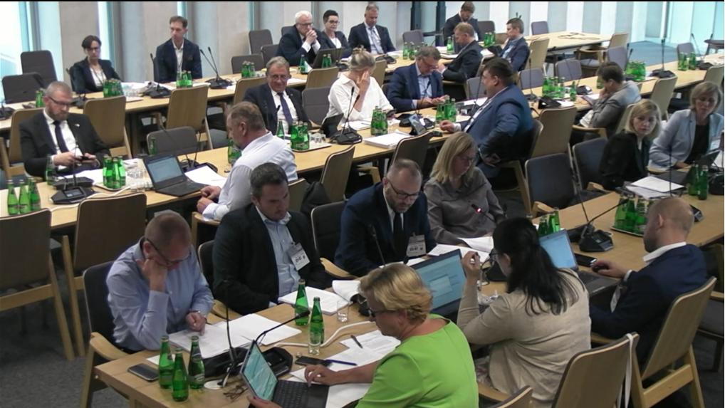 Posiedzenie odbyło się w udziałem strony społecznej (fot. sejm.gov.pl)
