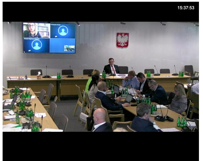 O suplementy pytała poseł Marcelina Zawisza (Lewica)(fot. sejm.gov.pl).