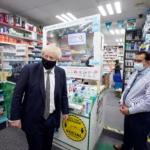 Premier Wielkiej Brytanii z wizytą w lokalnej aptece