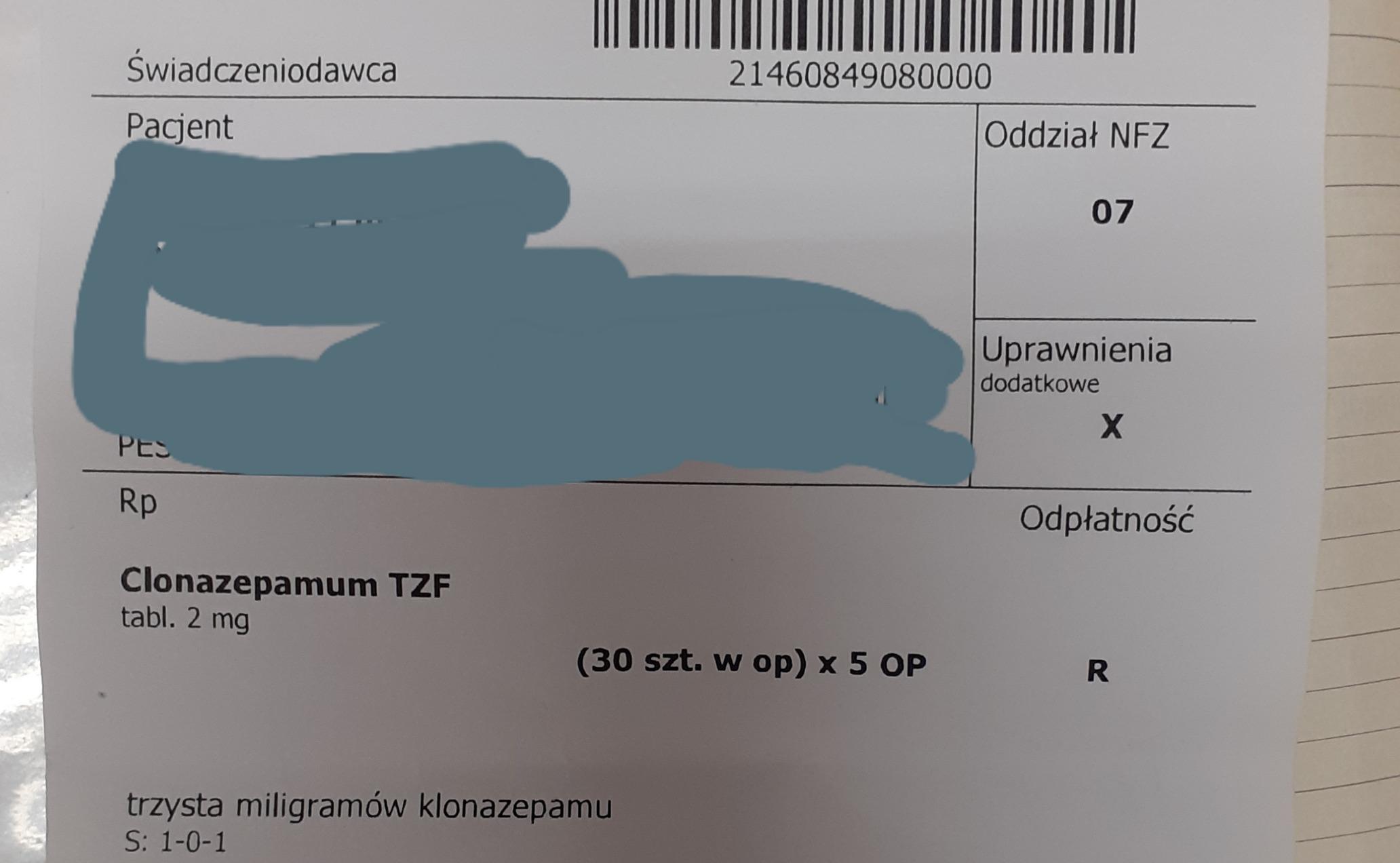 W jednym z przypadków lekarz poinformował, że otrzymał już wcześniej sygnał o pojawieniu się tego typu recepty w innej aptece (fot. WIF w Warszawie)