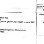 Kolejna fałszywa recepta na Medikinet w Warszawie