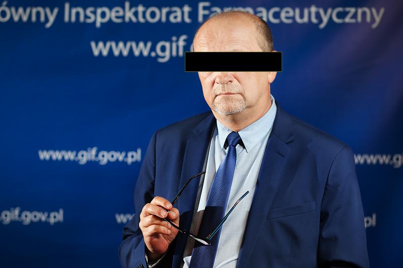 Zbigniew N. pełnił obowiązki Głównego Inspektora Farmaceutycznego w latach 2016-2018 (fot. MGR.FARM)